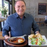 Chef Alain Cohen prepares special order offals in the U.S.