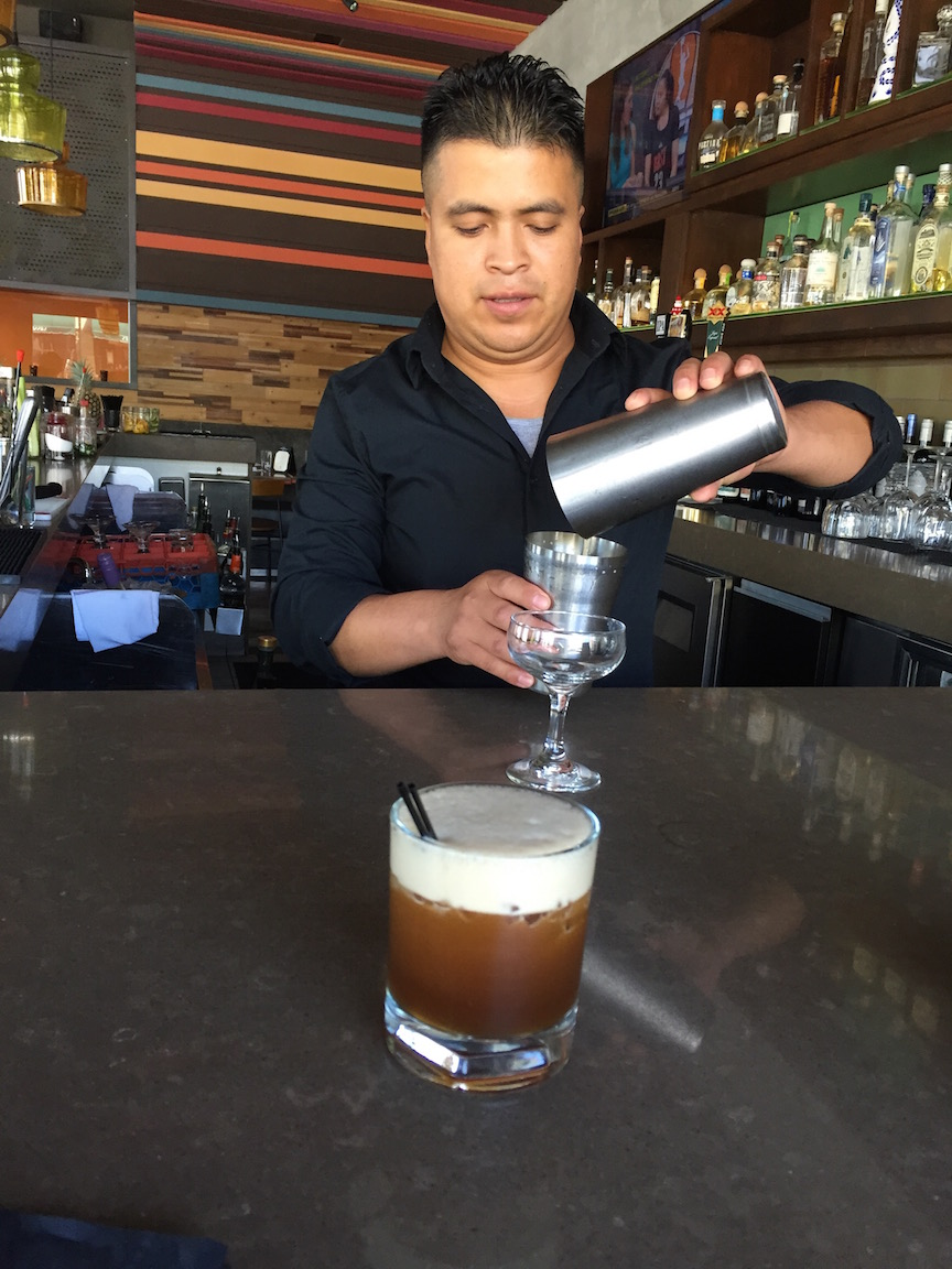 The tequila Mexican coffee