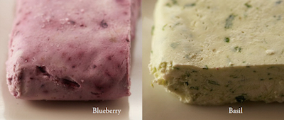 Cream Cheese blueberry basil