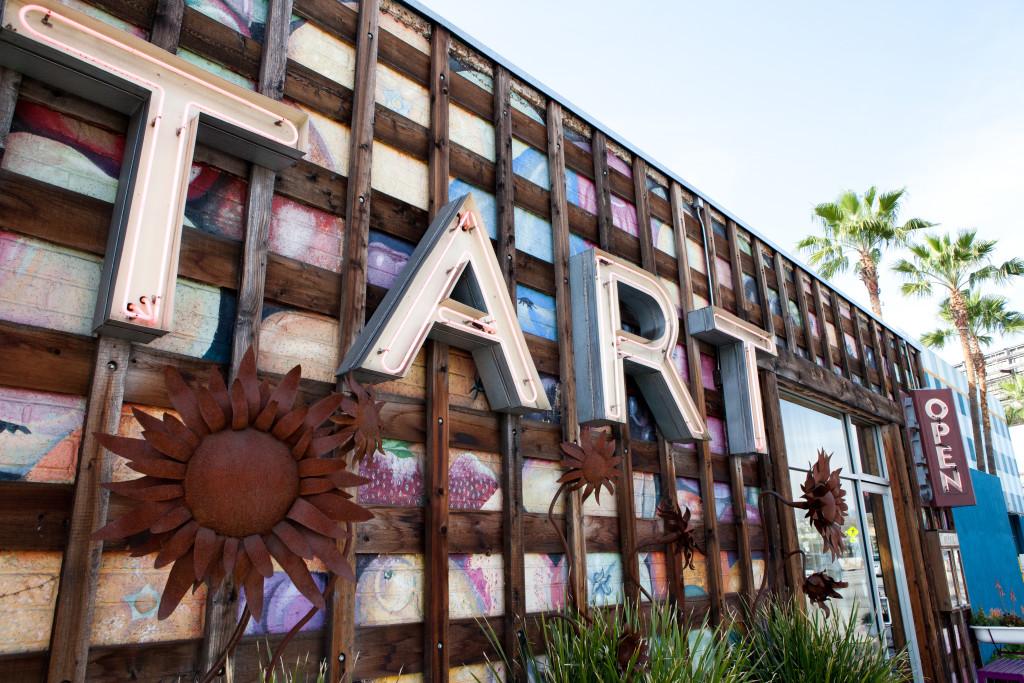 TART Restaurant Sign