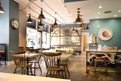 Sangers & Joe - Dining Interior