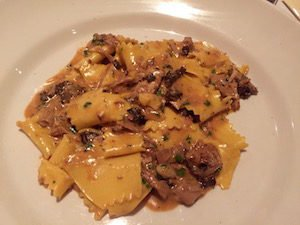 Pappardelle con Fagiano e Morelle