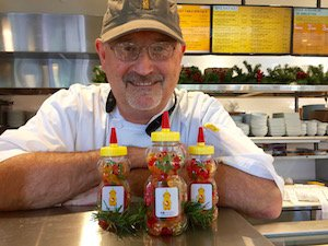Honey Bear Daisy Cafe Blooms with Best of East and West Coast