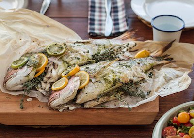 """Chef Oliver Ross' New Zealand Snapper: """"Whole for the Holidays"""""""