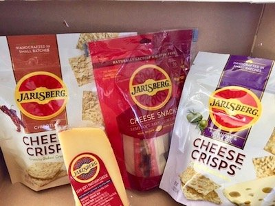 Old-World Jarlsberg Cheese Debuts New Cheese Snacks, Crisps