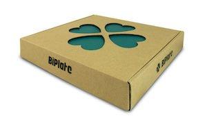 Biplate box