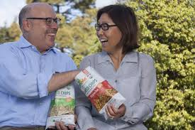Steve Broad and Annie Chun