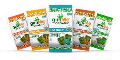gimMe's Refined New Seaweed Chips and Sheets