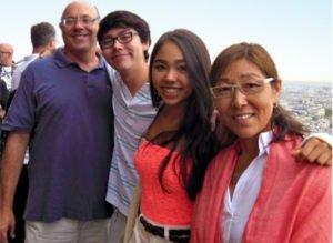 Annie Chun's family