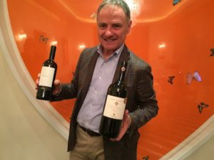 Andrea with Cecchi wines