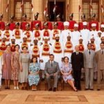 Dinner with the Mountbattens in Gurinder Chadha's VICEROY'S HOUSE